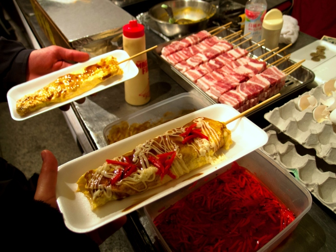 japao, kyoto foodstreet, hipotiroidismo